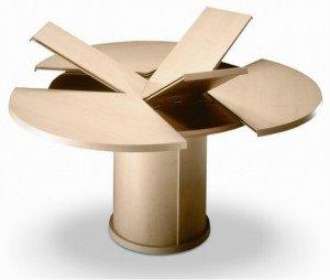 5 Tavoli rotondi allungabili - LA design